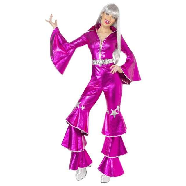 """Strój dla dorosłych """"Królowa Disco"""", SMIFFYS, rozm. M"""