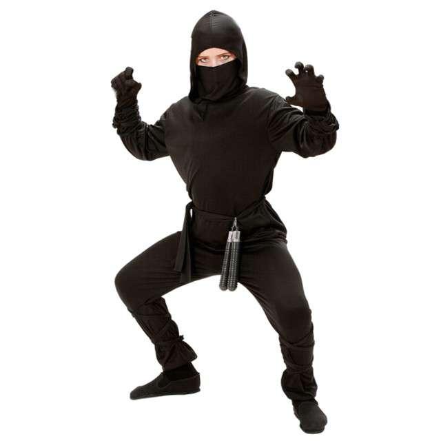 """Strój dla dzieci """"Ninja"""", WIDMANN, rozm. 11-13 lat"""