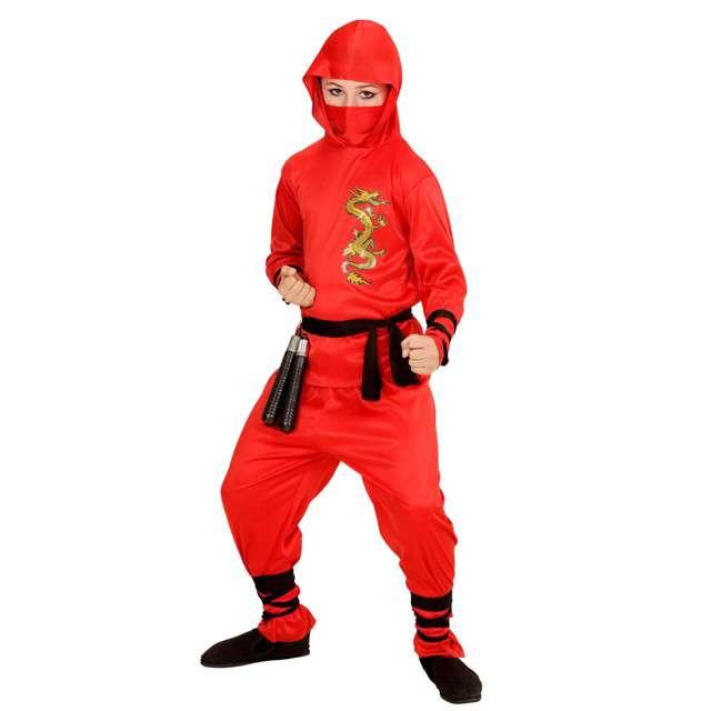 """Strój dla dzieci """"Ninja"""", WIDMANN, rozm. 8-10 lat"""