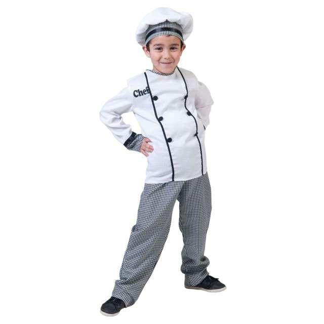 """Strój dla dzieci """"Kucharz"""", Funny Fashion, rozm. 116 cm"""