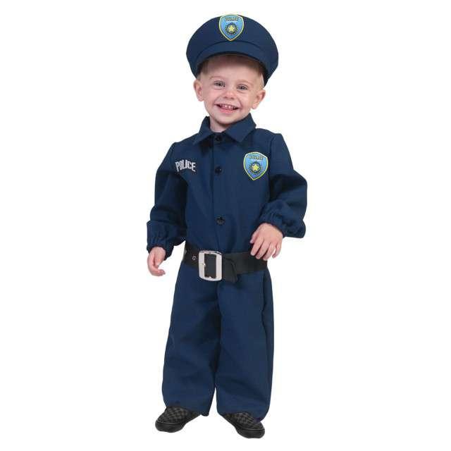 """Strój dla dzieci """"Policjant"""", Funny Fashion, rozm. 104 cm"""
