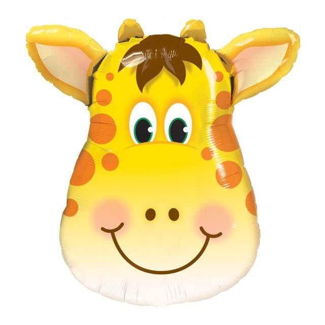 Balon foliowy Głowa Żyrafy QUALATEX 32 SHP