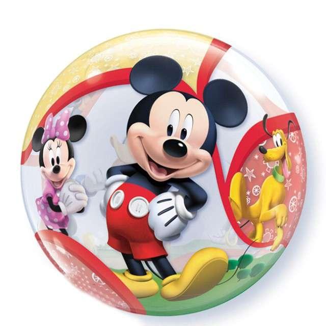 """Balon foliowy """"Mickey z Przyjaciółmi"""", QUALATEX, 22"""" ORB"""