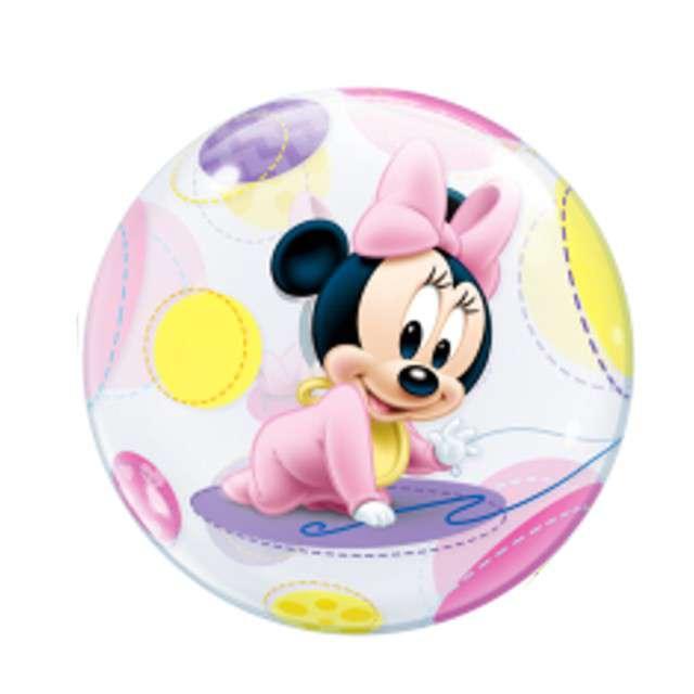 "Balon foliowy ""Baby Minnie"", QUALATEX, 22"" ORB"