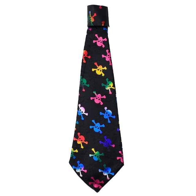 "Krawat ""Czaszki - Kolorowe"", GODAN"