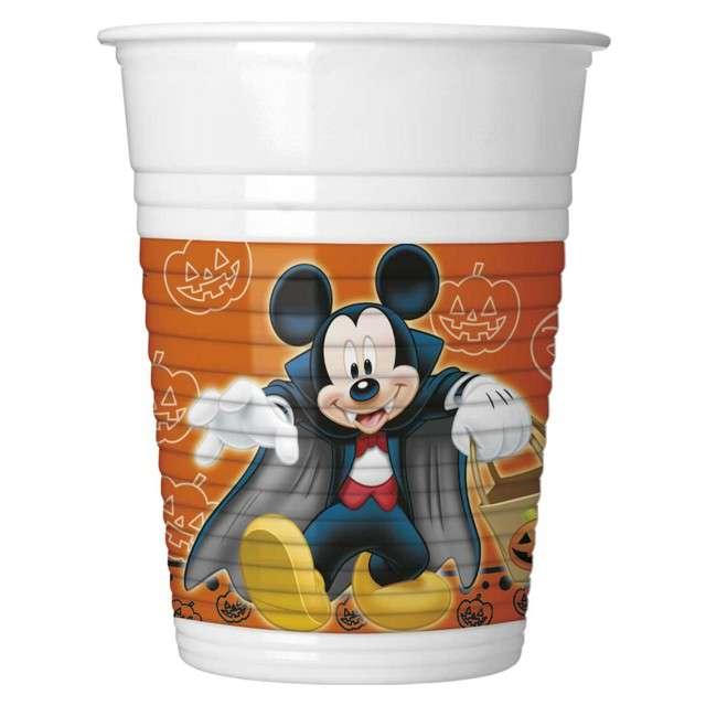 "Kubeczki plastikowe ""Mickey Halloween"", PROCOS, 200 ml, 8 szt"
