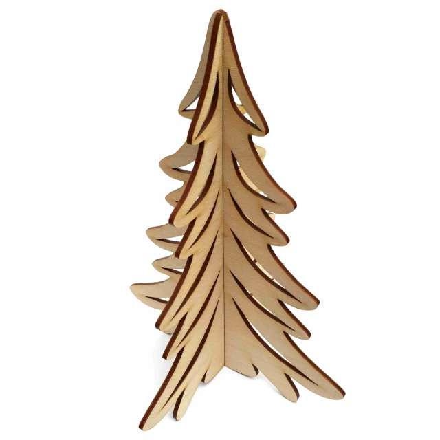 """Dekoracja drewniana """"Choinka Świąteczna rozm. L"""", 23 cm"""
