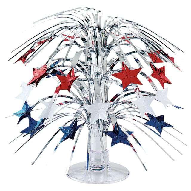 "Dekoracja na stół ""USA Party"", AMSCAN, 21,5 cm"