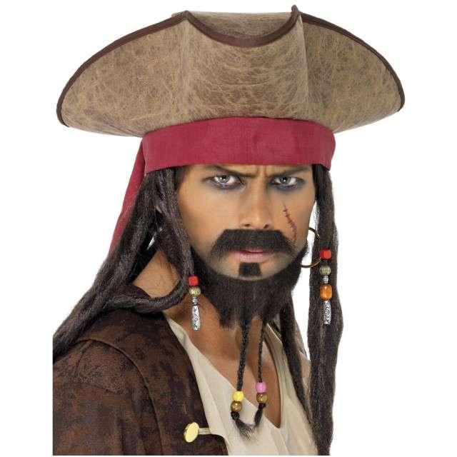 """Kapelusz """"Pirat z Dredami"""", SMIFFYS"""