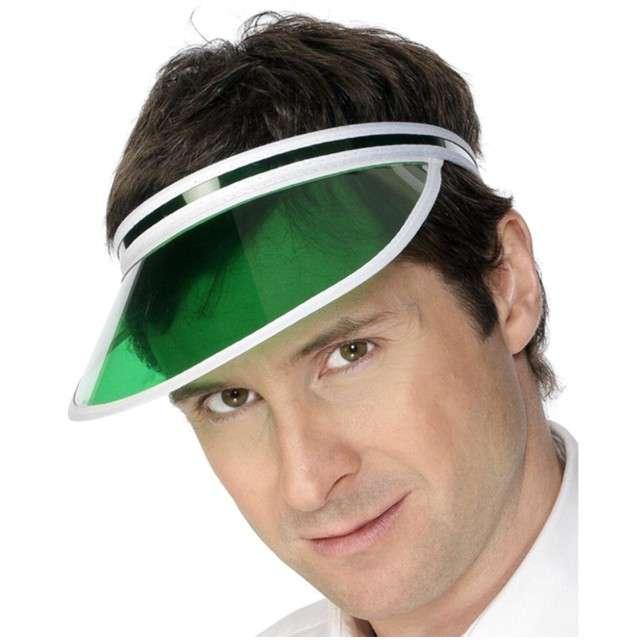 """Czapka """"Pokerowy Daszek"""", zielona, SMIFFYS"""