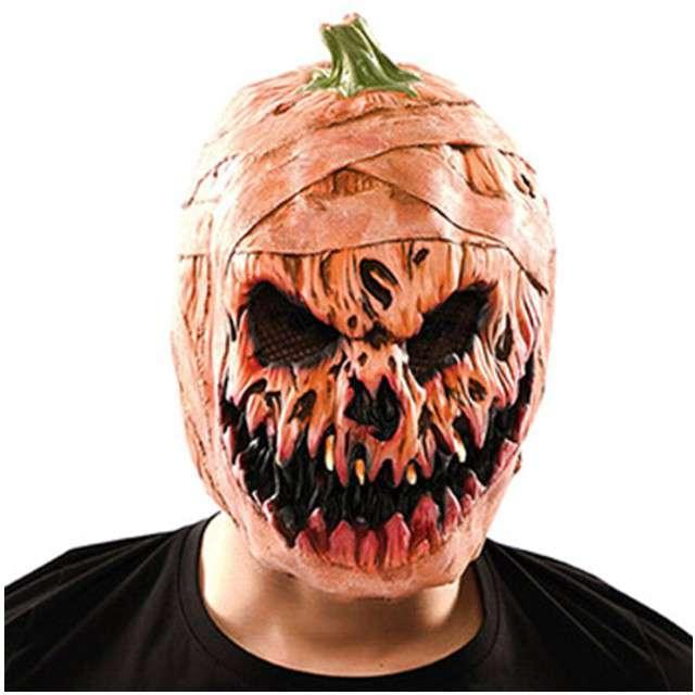 "Maska ""Dynia Halloween"", lateksowa, FYASA"