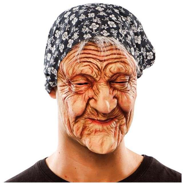 Maska Babcia Halloween lateksowa FYASA