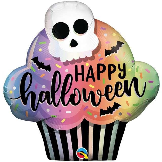 """Balon foliowy """"Halloweenowe Ciastko"""", QUALATEX, 32"""" SHP"""
