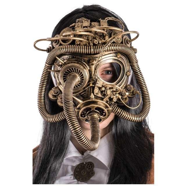 """Maska """"Steampunk Gazowa"""", Carnival Toys"""