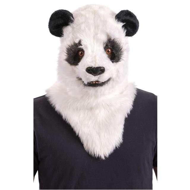 "Maska ""Panda - Ruchoma Szczęka"", pluszowa, Carnival Toys"