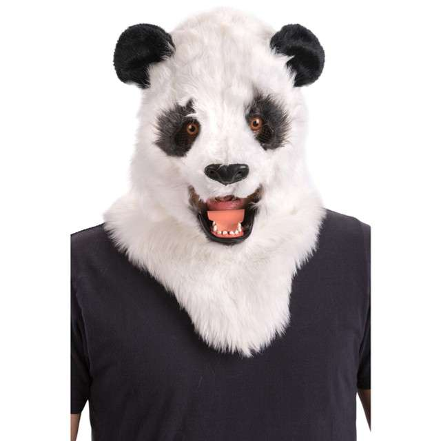 Maska Panda - Ruchoma Szczęka pluszowa Carnival Toys