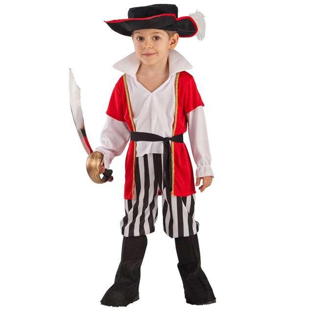 Strój dla dzieci Pirat Carnival Toys rozm. 6-7 lat