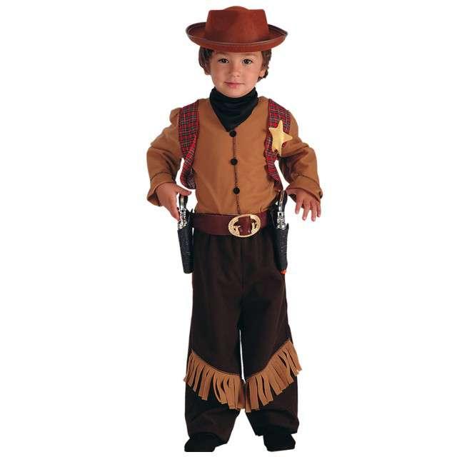 """Strój dla dzieci """"Kowboj"""", Carnival Toys, rozm. 6-7 lat"""