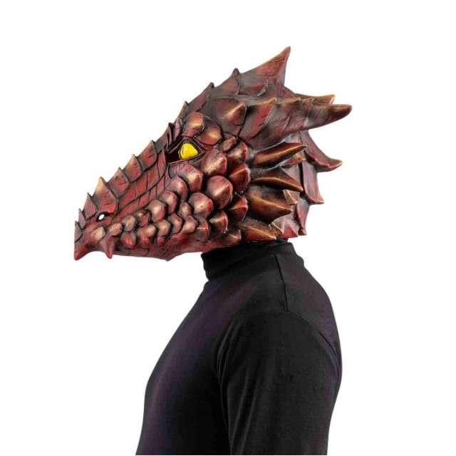 Maska Smok lateksowa Carnival Toys