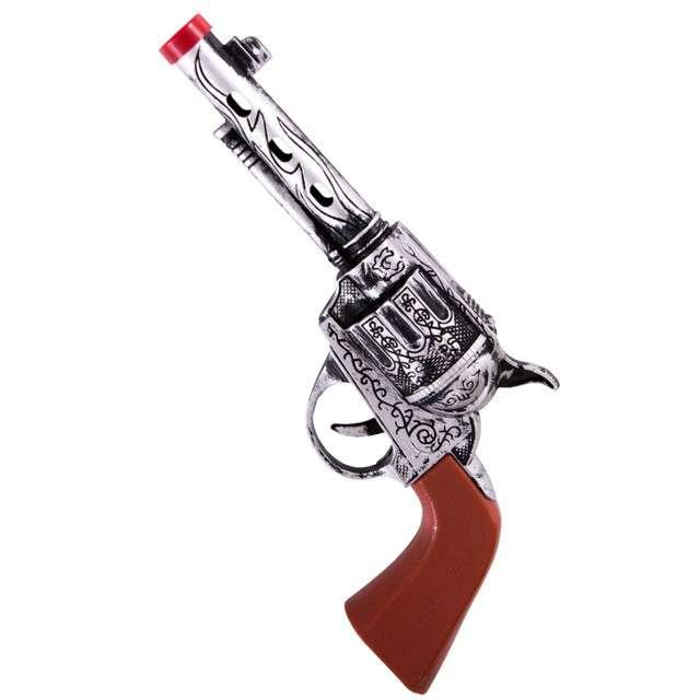 "Broń ""Rewolwer Kowboja"", Carnival Toys, 21 cm"