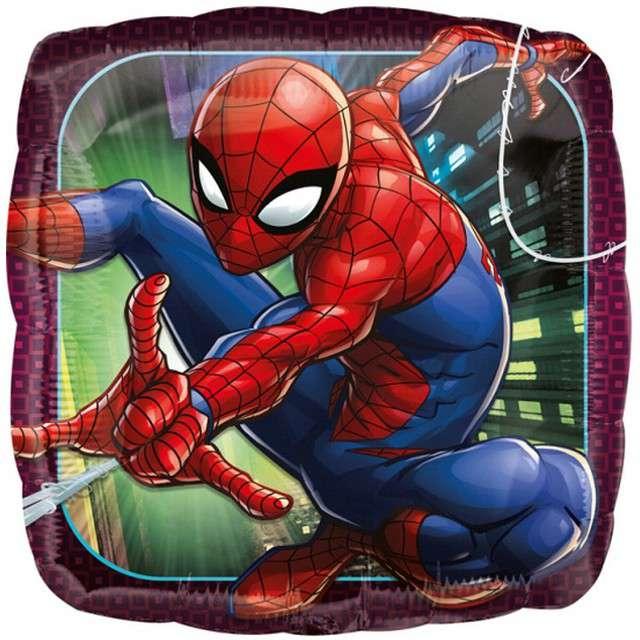 Balon foliowy Spiderman AMSCAN 18 SQR