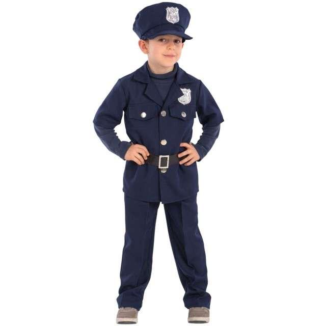 Strój dla dzieci Policjant Jim Carnival Toys rozm. 6-10 lat