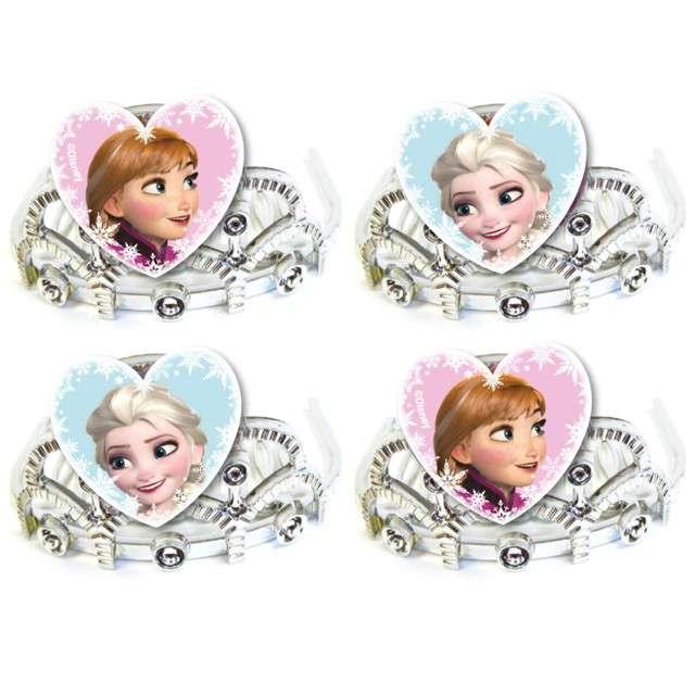 """Tiara """"Frozen - Kraina Lodu"""", AMSCAN, 4 szt"""