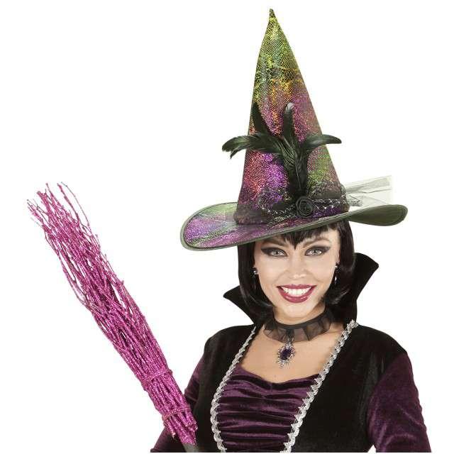Kapelusz Holograficzna Czarownica WIDMANN