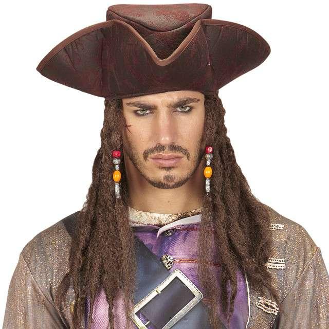Kapelusz Pirat z Dredami WIDMANN