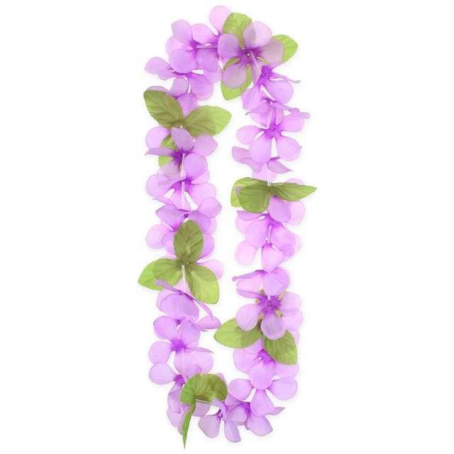 """Naszyjnik Hawajski """"Wiosenny"""", różowy, Godan, 120 cm"""