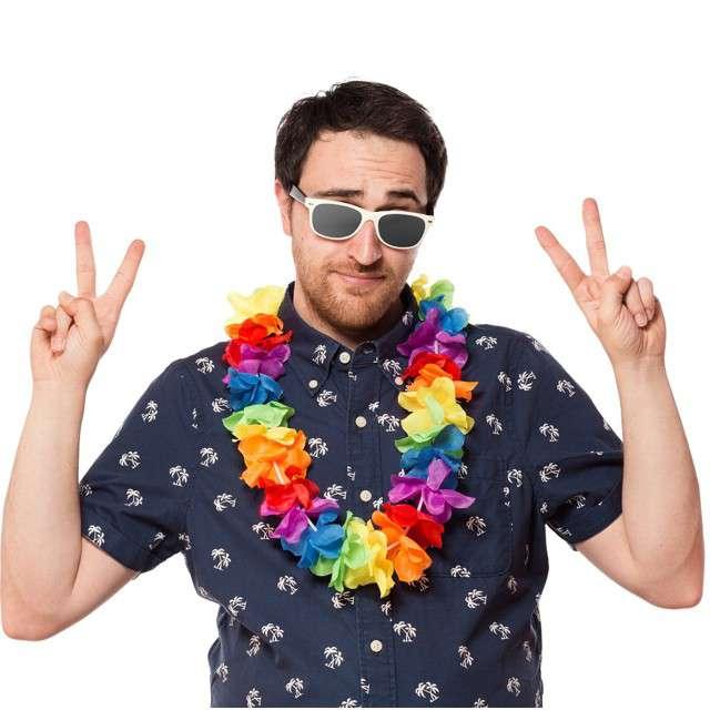Naszyjnik Hawajski Aloha Neonowy mix Godan 120 cm