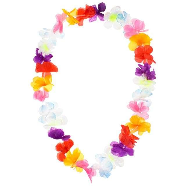 Naszyjnik hawajski Kwiaty mix GODAN 104 cm