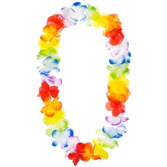 """Naszyjnik hawajski """"Kwiaty"""", mix, GODAN, 104 cm"""