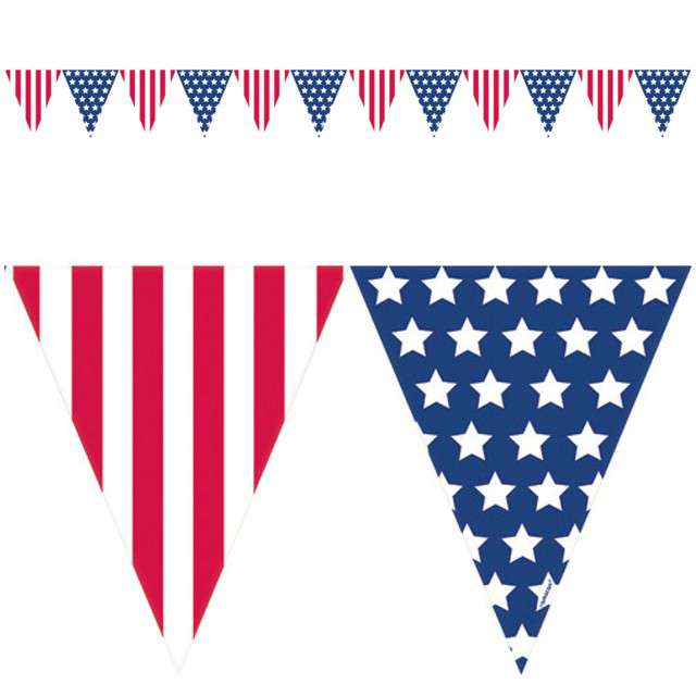 "Baner flagi ""USA Party"", AMSCAN, 365 cm"