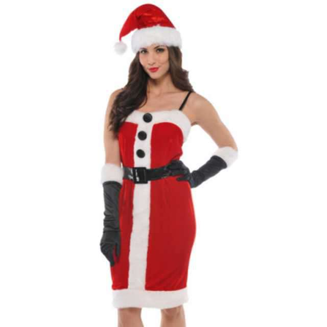 _xx_Ladies Costume Jolly Holly Size S