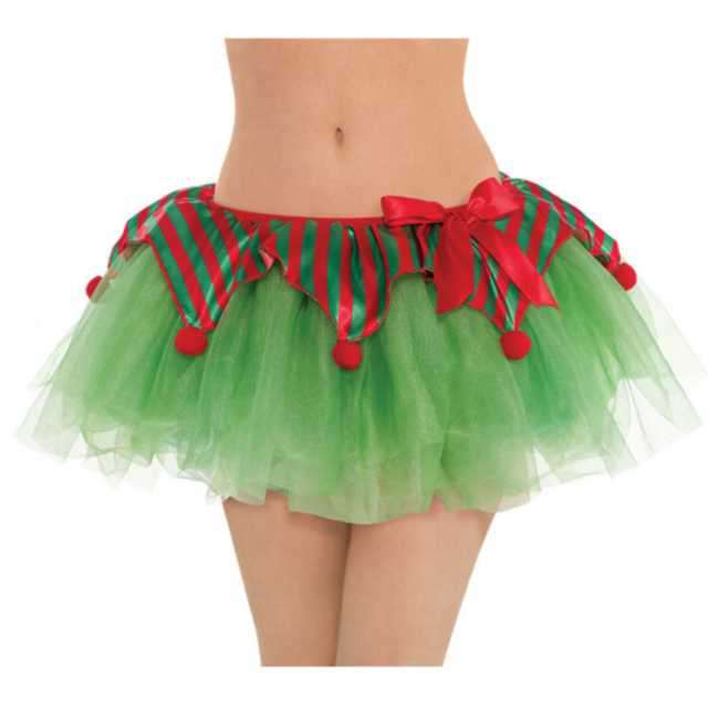 "Spódniczka tutu ""Elf"", zielona, Amscan"