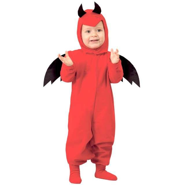 """Strój dla dzieci """"Diabełek"""", czerwony, GUIRCA, rozm. 12-18 m-cy"""