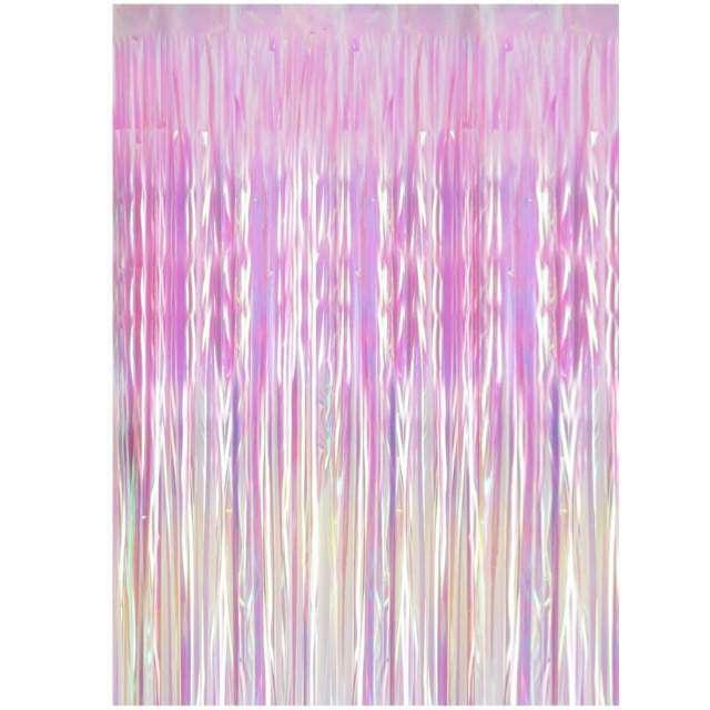 """Kurtyna na drzwi """"Classic"""", opalizująca, PartyDeco, 250 x 90 cm"""