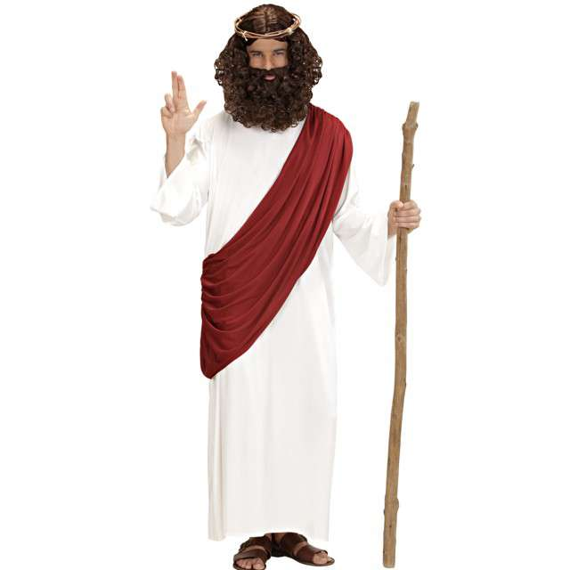 """Strój dla dorosłych """"Jezus z Koroną"""", Widmann, rozm. S"""