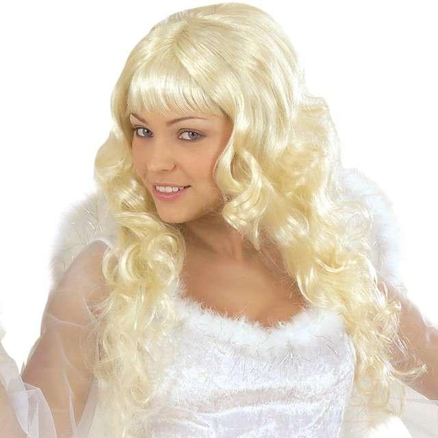 "Peruka party ""Angelica"", blond, Widmann"
