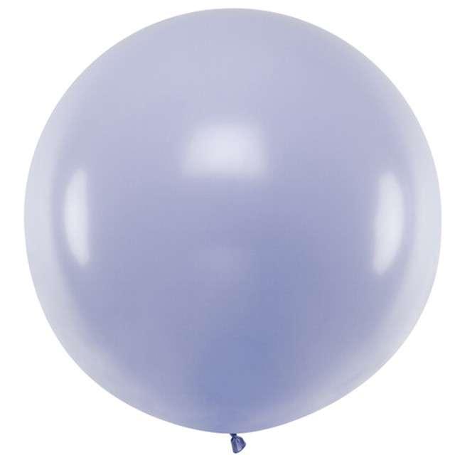 """Balon """"Pastel"""", liliowy, 60cm, PartyDeco, RND"""