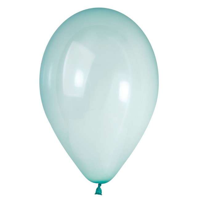 "Balony ""Crystal"", zielone, 13 cali, 50 szt"