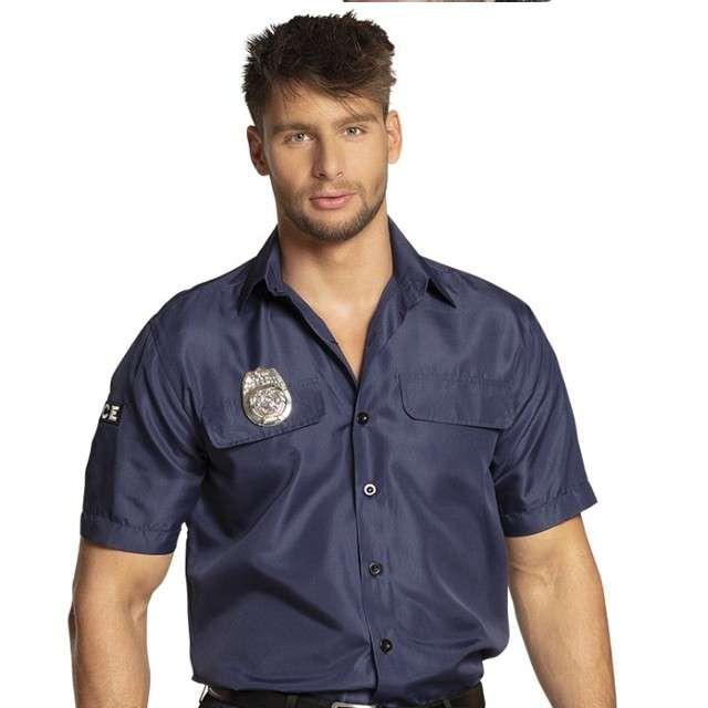 """Strój dla dorosłych """"Koszula Policjanta"""", Boland, rozm. L"""