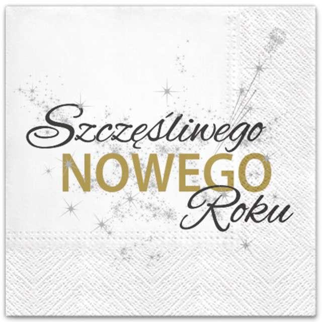 """Serwetki """"Nowy rok"""", PAW, 33 cm, 20 szt"""