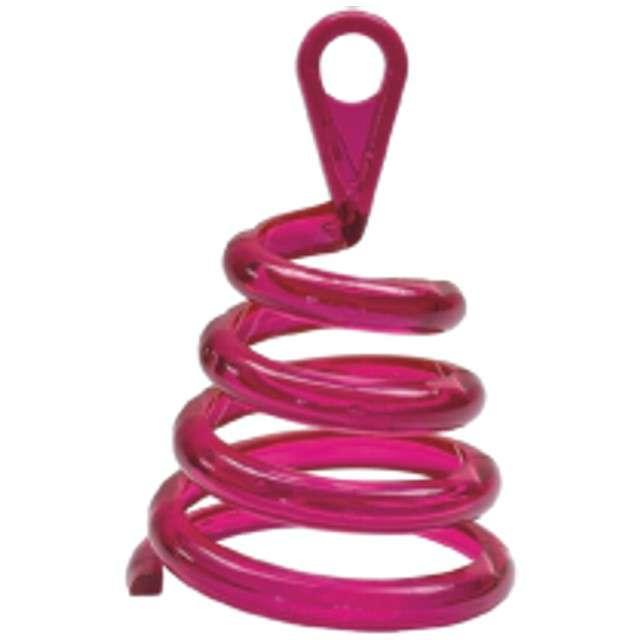 """Obciążnik do balonów """"Sprężyna"""", różowy, BELBAL"""