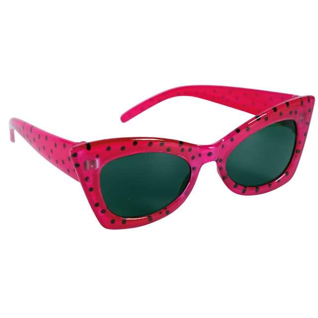 """Okulary party """"Classic 50"""", różowy, Fyasa"""