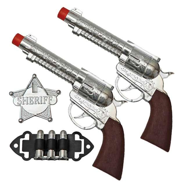 _xx_Set Of 2 Cowboy Guns 21X10 Cm.