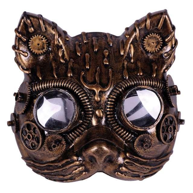 """Maska """"Steampunk Kot"""", Fyasa"""
