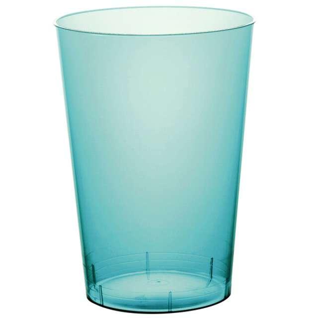 """Szklanki jednorazowe """"Drink Mini"""", turkusowe, GoldPlast, 200 ml, 10 szt"""