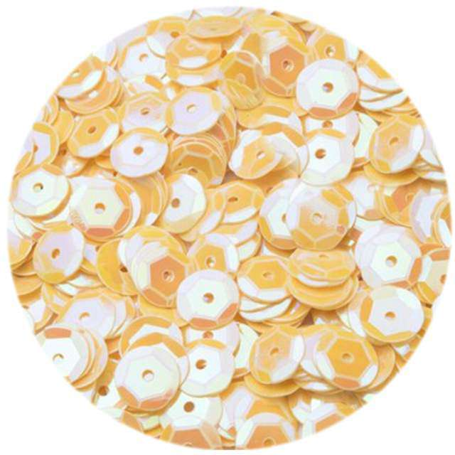 Cekiny Classic Pastel brzoskwiniowe 6 mm 12 g Czakos